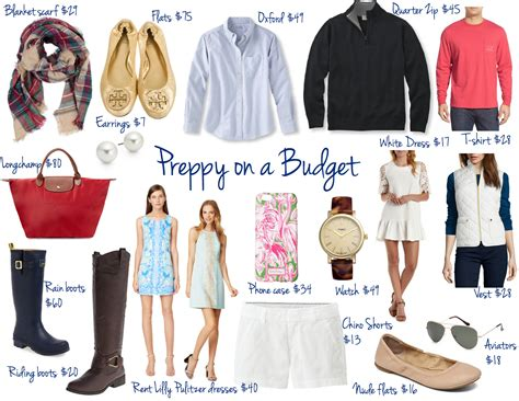 Where To Buy Clothes Preppy On A Budget Where To Shop What Pieces To Buy