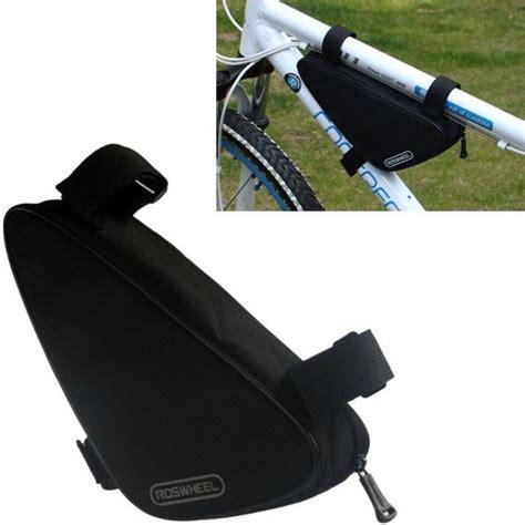 Tas Sepeda tas sepeda serbaguna triangle frame bag pouch black
