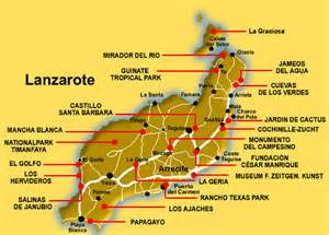 flamingo resort map lanzarote lanzarote detailed map lanzarote visit