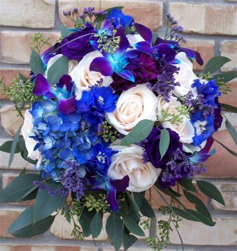 best wedding flowers blue fall wedding flowers