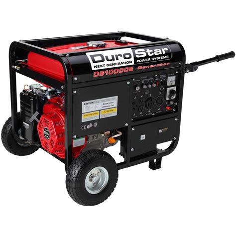 durostar 10 000 watt gasoline powered electric start