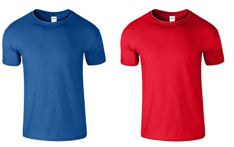 Kaos Polos Gildan Softstyle Original 30s 2 pack new mens gildan plain tshirt unisex t shirts soft style cotton l m s xl ebay
