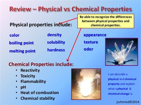 is color a physical or chemical property physical science notes properties systems matter energy