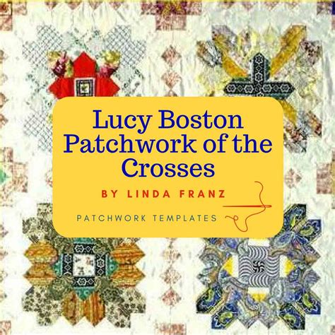 Patchwork Of The Crosses Template - boston patchwork of the crosses template set by