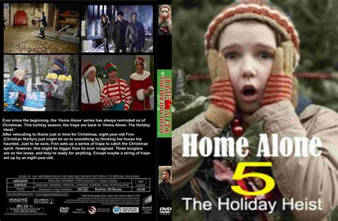 covers box sk home alone 5 high quality dvd