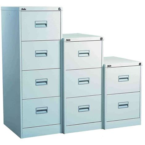Silverline Midi Filing Cabinet 3 Drawer (Choice of Colours )