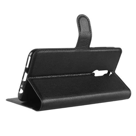 Flip Huawei 2i leather wallet for huawei 2i black