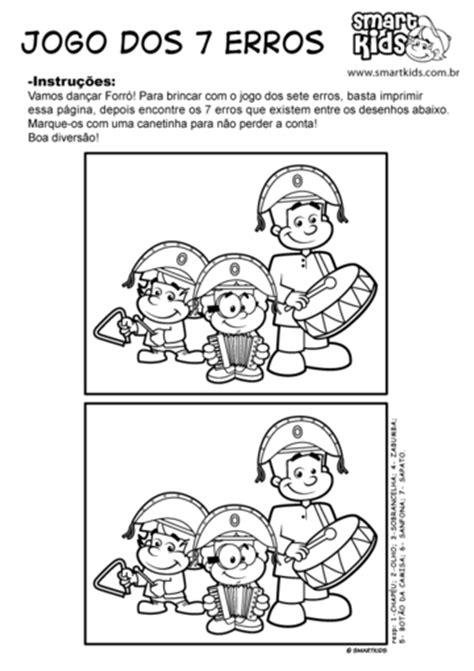 Atividade Forró Sete Erros - Atividades - Smartkids