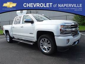 Chevrolet Naperville New 2017 Chevrolet Silverado 1500 High Country Crew Cab
