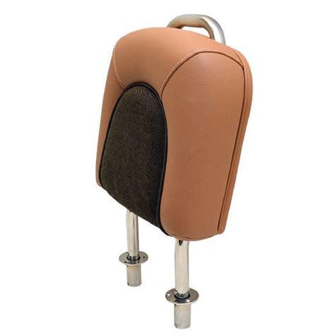boat backrest scout 245 mocha brown vinyl fabric boat forward seat