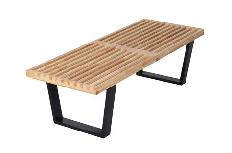 s m bench 2017 mlf nelson platform bench rubber hardwood top for