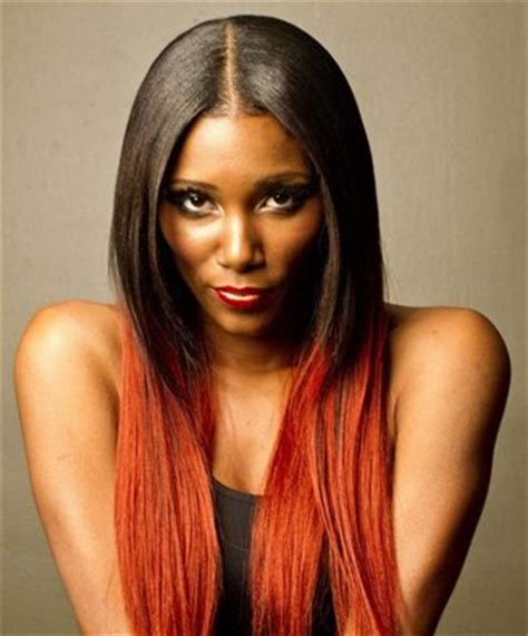 pics of black women hair ends colored the hairvenly verdict red hair colour for you 360nobs com