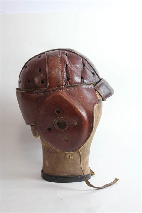 football leather couch antique football leather helmet with canvas hat mold at