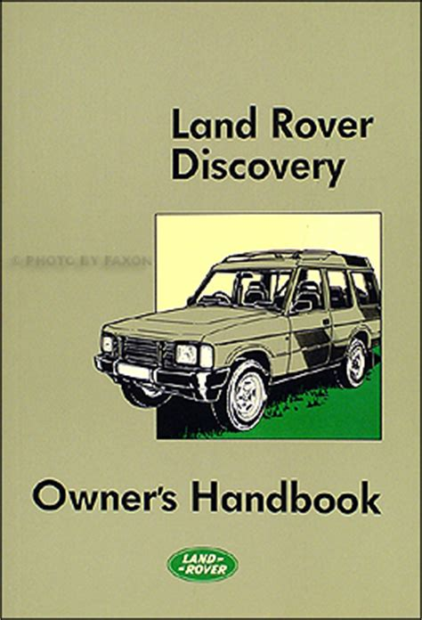 free auto repair manuals 1994 land rover discovery regenerative braking 1990 1998 land rover discovery owner s repair shop manual