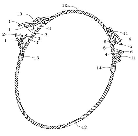 wire rope cling methods patent us6381939 wire rope sling and methods of same patents