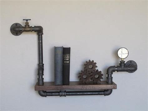 Plumbing Shelf by Stout Mini Single With Valve And Pressure Pipe Shelf