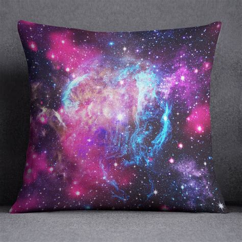 nebula bedding pink and blue nebula galaxy bedding ink and rags