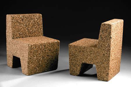 cork furniture eco friendly contemporary furniture design