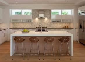 countertop styles kitchen waterfall countertop ideas new countertop trends