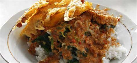 Nasi Pecel Samset Paket Murah Makan Makan Siang nasi pecel bu tinuk kuta tempat makan halal murah di bali