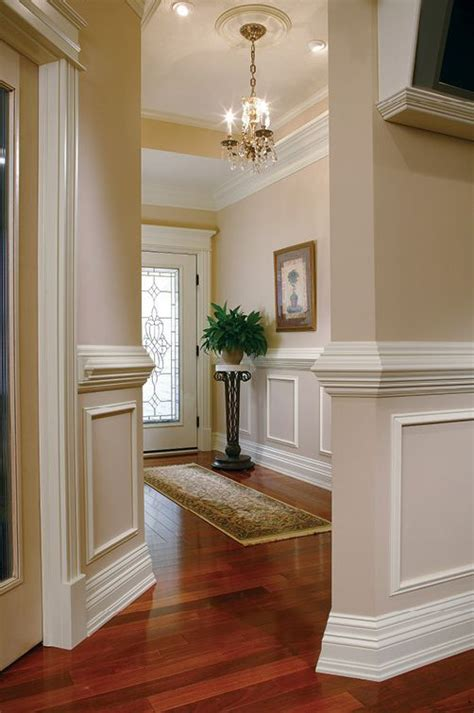 dining room trim ideas 25 best ideas about chair rail molding on diy