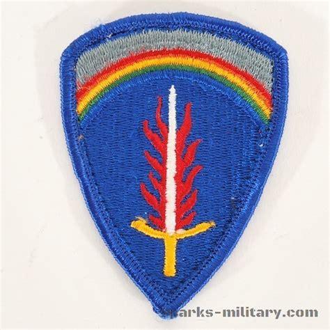 color us us army usareur patch color