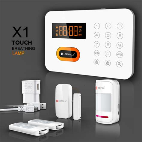 app touch panel pstn wireless home security