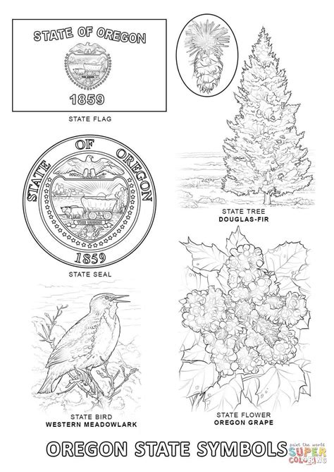 printable state coloring pages flag coloring pages
