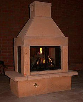 Free Standing Outdoor Fireplaces by An Outdoor Fireplace Is The Best Way To Make Your Backyard