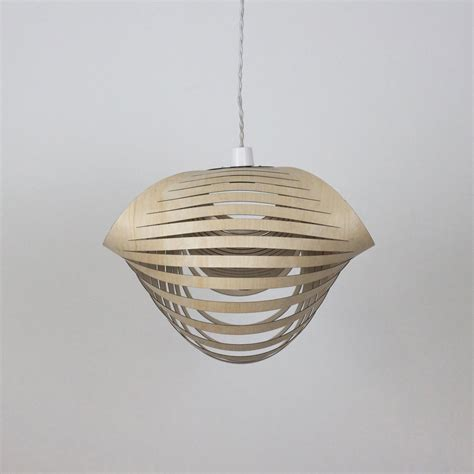 Birch L Shade pendant shade birch ply 16 14 quot l x 15 7 quot w x 11