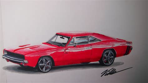 1970 dodge charger drawing 1968 dodge charger speed drawing