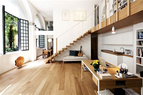 open floor plans with loft stairs with open loft house