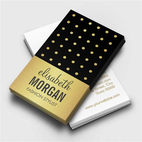 Gold Fashion Stylist Business Card Template by Creative Hair Stylist Business Cards Hair Salon