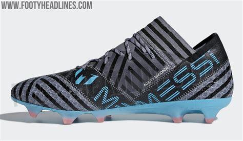 adidas nemeziz messi cold blooded boots revealed footy