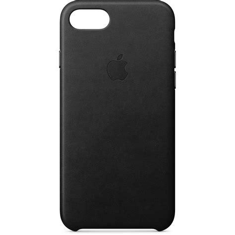 apple iphone 8 7 leather black mqh92zm a b h photo