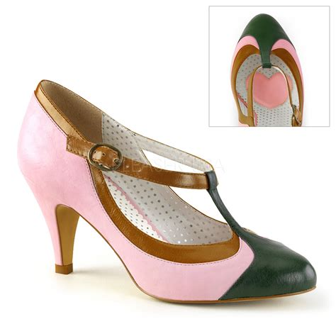 couture shoes pleaser pinup couture 03 baby pink t shoes