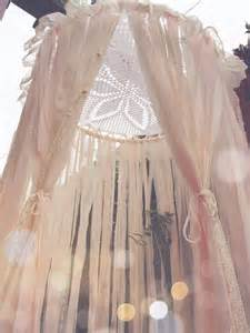Diy Lace Bed Canopy Big Shabby Chic Boho Lace Crochet Doily