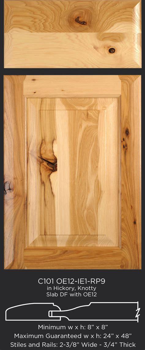 hickory cabinet doors online hickory door shown with teak finish