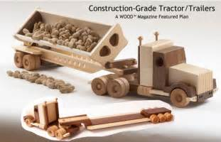 woodwork plans for wood toy trucks pdf plans