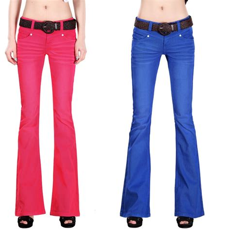 colored jeans in 2015 aliexpress com buy 2015 new women casual flare jeans
