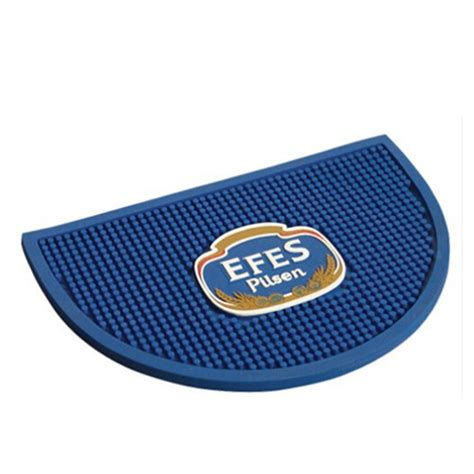 rubber bar spill mat custom logo bar rail mats rubber