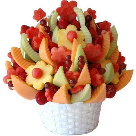 fruit flower chocolate and fruit bouquets