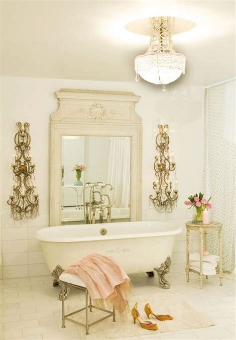 shabby chic bathroom lighting 50 amazing shabby chic bathroom ideas noted list