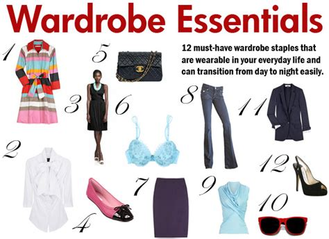 8 Fashion Tips For A More Look by Fashion Style Tips Wardrobe Basics For