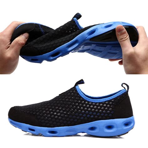 comfortable slip on shoes womens 2015 spring summer men mesh running shoes comfortable