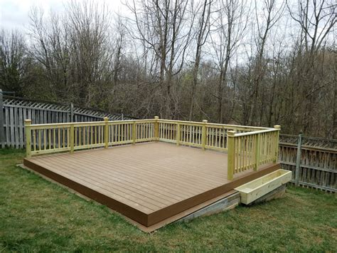 building a deck on a sloped backyard how to build a diy floating deck in a sloped backyard