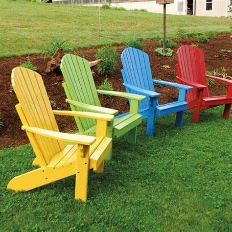 Hayneedle Adirondack Chairs by A L Furniture Yellow Pine Fanback Adirondack Chair