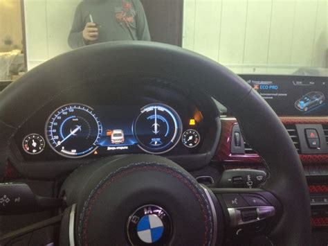 Bmw 3er Virtual Cockpit by Bmw F30 3 Series Spotted In The Wild Wearing Fully Digital