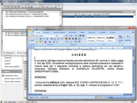 ufficio successioni agenzia delle entrate software per successioni ereditarie