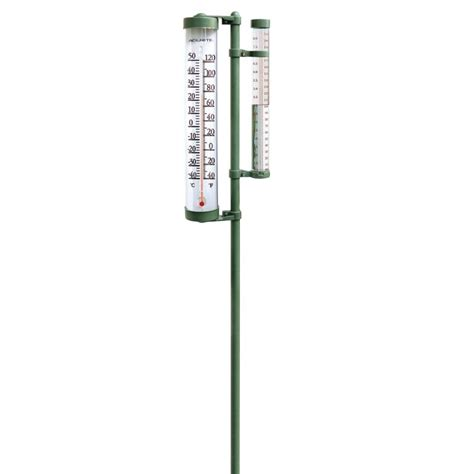 Wall Mantle by Rain Gauge And Thermometer Swivel Combination Acurite